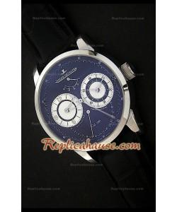 Jaeger-Le Coultre Duometre Reloj Cronóggrafo Suizo de Acero