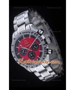 Reloj Omega Speedmaster Racing Edición Michael Schumacher con Esfera Roja