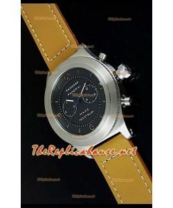 Reloj japonés Panerai Mare Nostrum en estuche de acero
