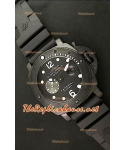 Panerai Lumenor Reloj Japonés Sumergible  1000M en PVD