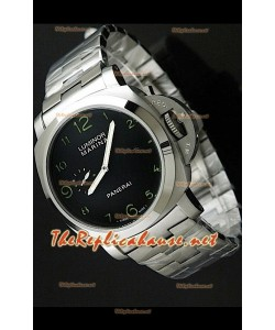 Panerai Lumenor Marena PAM359 Reloj Japonés con Correa de Acero