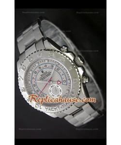 Rolex Replica Yachtmaster II Reloj Suizo en Esfera Beige