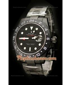 Réplica Reloj Rolex Edición Explorer II 2011 en PVD