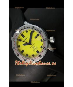 Sinn U1 Juweiler Roberto Edición Limitada – 1:1 Réplica Espejo – Esfera Amarilla