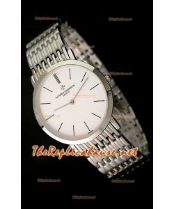 Vacheron Constantin Reloj Japonés de Cuarzoen Acero - 38MM