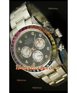 Rolex Daytona Cosmograph, Reloj Réplica Suiza - Bisel de Zafiro