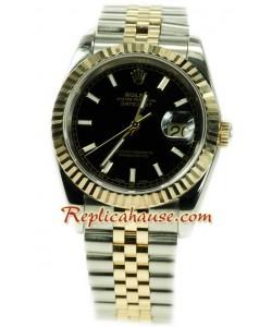 Rolex Datejust Dos Tonos Reloj Réplica