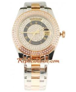 Rolex Réplica Day Date Dos Tonos Reloj