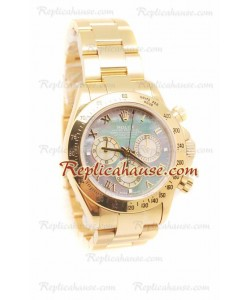 Rolex Daytona Gold Reloj Suizo Dial color Perla - 40MM de Diámetro