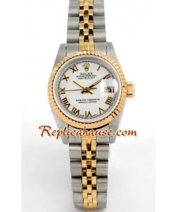 Rolex Réplica Suizo Datejust Reloj para Dama