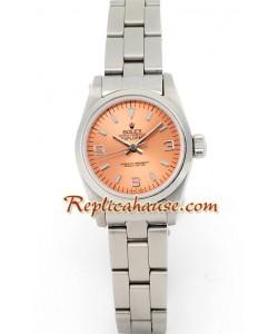 Rolex Réplica Explorer I - Silver - - Dama -
