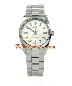 Rolex Réplica Milgauss Reloj para hombre - Green Crystal Edición