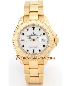 Rolex Yacht Master Gold - Cara Blanca