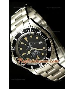 Rolex Ventage Sea Dweller Polizia Di Stato Lefty Reloj Suizo