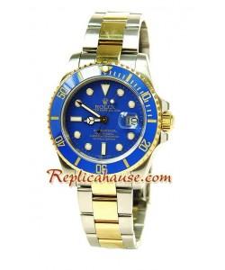 Rolex Réplica Submariner Suizo Dos Tonos Reloj