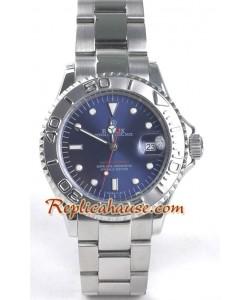 Rolex Réplica Yacht Master - Silver - para Hombre tamaño