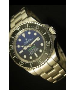 Rolex Sea Dweller Deepsea Reloj Suizo Dial Azul