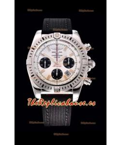 Breitling Chronomat Airbone Reloj Réplica a Espejo 1:1 con Dial Blanco