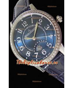 Jaeger-LeCoultre Rendez-Vous Steel Night & Day Medium Reloj Suizo a Espejo 1:1