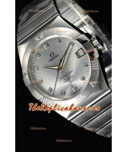 Omega Co-Axial Constellation Master Chronometer Reloj a Espejo 1:1 39MM