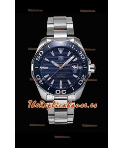 Tag Heuer Aquaracer Calibre 5 Reloj Réplica a Espejo 1:1 Dial Azul