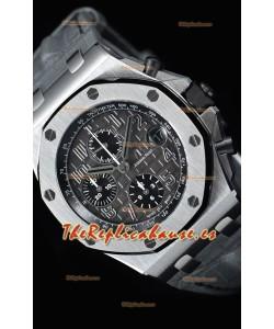"""Audemars Piguet Royal Oak Offshore Chronograph """"Elephant""""  Reloj de Acero 904L Réplica a Espejo 1:1"""
