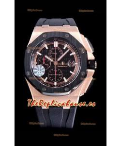 Audemars Piguet Royal Oak Offshore Méga Tapisserie Dial Reloj de Acero 904L 1:1