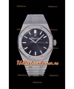 Audemars Piguet Royal Oak 41MM Dial Azul Reloj Réplica a espejo 1:1 de Acero 904L