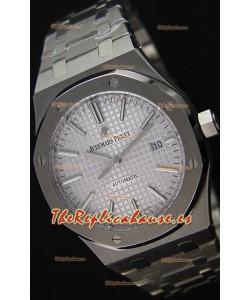 Audemars Piguet Royal Oak 41MM Gris Correa de Acero  - Reloj Réplica a Espejo 1:1 Última Edición