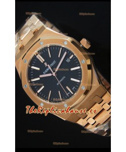 Audemars Piguet Royal Oak 42MM Reloj en Oro Rosado - Movimiento 3120 escala 1:1