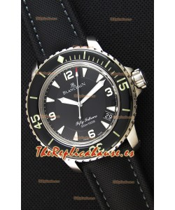 Blancpain Fifty Fathoms - Reloj Réplica a Espejo 1:1 de Titanio