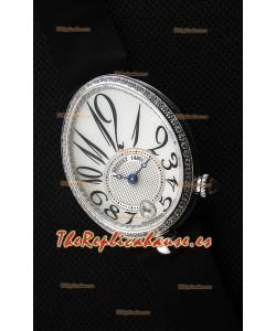 Breguet Reine De Naples Ladies Reloj Réplica Suizo a Espejo 1:1 de Acero Inoxidable