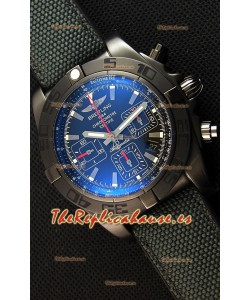 Breitling Chronomat 44 Blacksteel Reloj Suizo Réplica a Espejo 1:1 Revestimiento DLC
