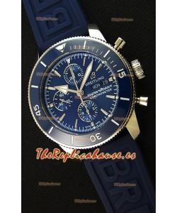 Breitling Superocean Heritage II Dial Azul 46MM Reloj Réplica Suizo a Espejo 1:1