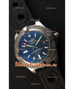 Breitling Avenger Blackbird 44 Reloj Réplica a Espejo 1:1 con Diamantes