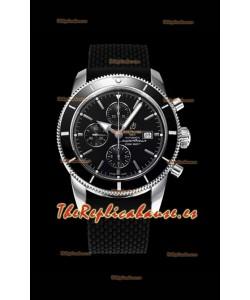 Breitling SuperOcean Heritage II 44MM Dial Negro Reloj Réplica Suizo