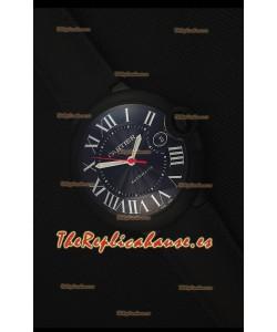 Cartier Ballon Bleu 42MM Reloj Replica Suizo con revestimiento DLC
