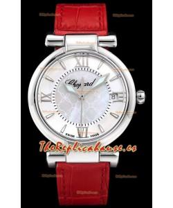 Chopard Imperiale Dial Blanco, Reloj Réplica Suizo Automático en Acero 904L