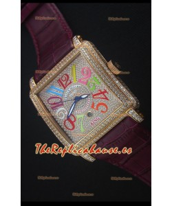 Franck Muller Conquistador King Automatic Crazy Colors Reloj Replica Suizo