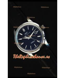 IWC Ingenieur Automatic Reloj Suizo Edición Limitada Dial Negro Replica a Escala 1:1