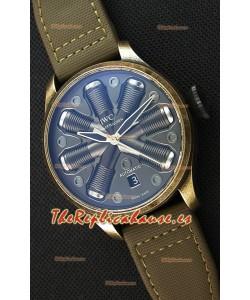 IWC Pilot Top Gun Concept Edition Reloj Réplica en Caja tipo Vintage 45.5MM