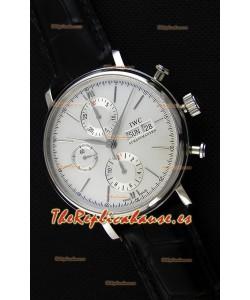 IWC Portofino Chronograph IW391007 Reloj Blanco Réplica a Espejo 1:1