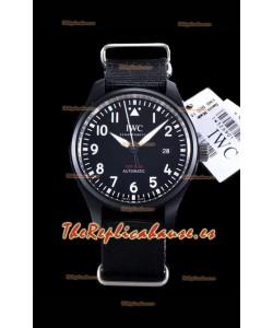 IWC Pilot's Automatic Top Gun Reloj Réplica a Espejo 1:1 en Caja de Cerámica
