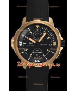 "IWC Aquatimer Chronograph ""Expedition Charles Darwin"" IW379503 Reloj Réplica a Espejo 1:1"