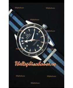 Omega Seamaster 300 CoAxial 007 Spectre Edition Reloj Replica Suizo escala 1:1