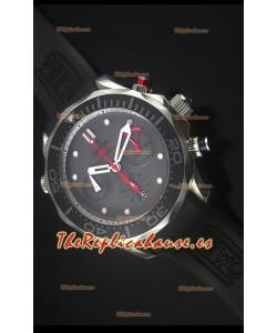 Omega Seamaster Professional Regatta Reloj Replica Suizo Correa de Goma