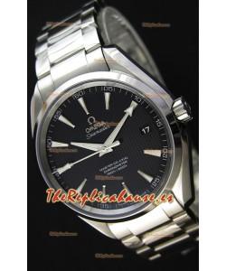 Omega Master Co-Axial Aqua Terra 150M Dial Negro Réplica a Espejo 1:1