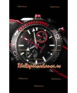Omega Seamaster Planet Ocean Deep Black 600M Volvo Ocean Race Reloj a Espejo 1:1