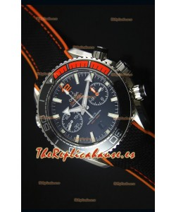 Omega Seamaster Planet Ocean 600M Master Chronograph Reloj Replica Escala 1:1