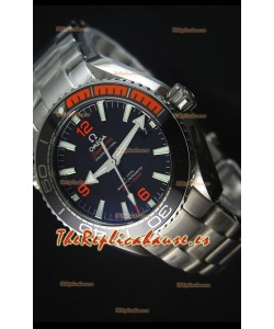 Omega Seamaster Planet Ocean 600M Good Planet Reloj Replica Escala 1:1